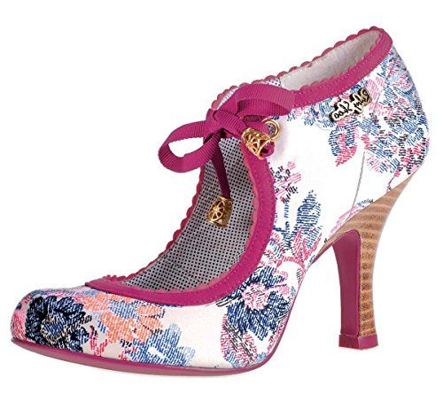 ed8f6cac Ruby Shoo Willow Pink Floral High Heel Shoes Floral High Heels, Ruby Shoo,  Shoes