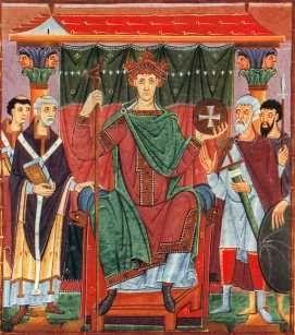 Las ropas usadas en el imperio romano ya hab an ca do en desuso como la toga larga tela que se - Ropa interior medieval ...