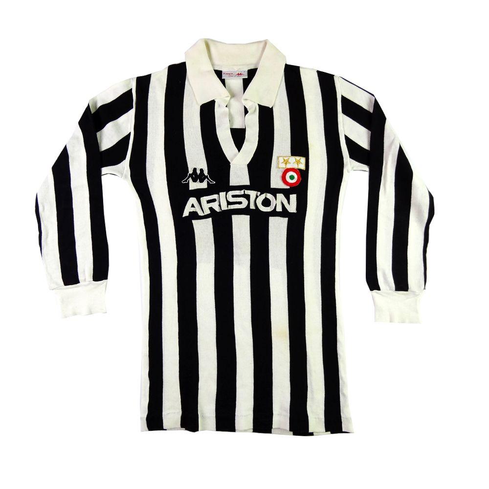 Baggio XL 1990-91 Juventus Maglia Home #10 R Top SHIRT MAILLOT TRIKOT