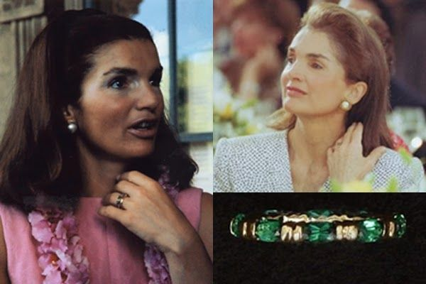 Carolyn S Engagement Ring Jackie Kennedy Jackie Onassis