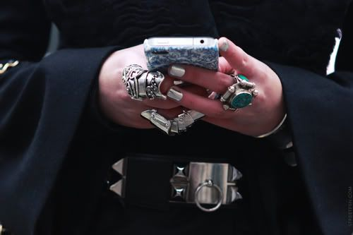 never too many rings. platinum evil.