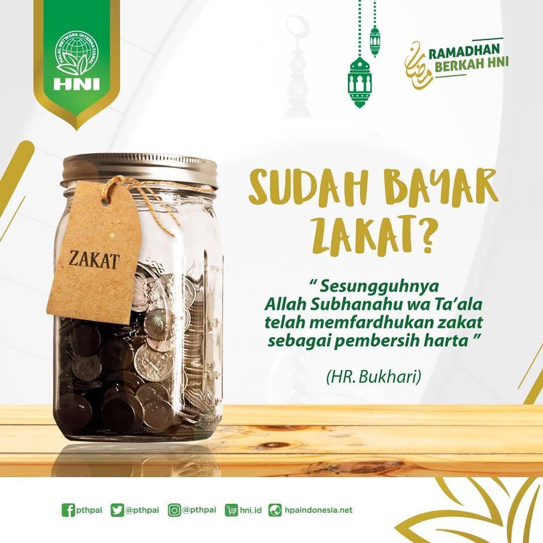 Hni Official Pthpai Di Instagram Zakat Fitrah Zakat Al Fitr