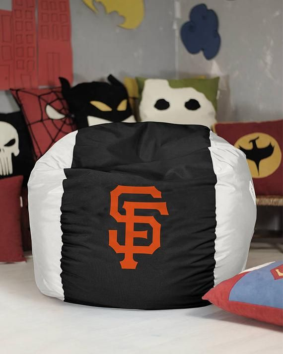 Brilliant San Francisco Giants Bean Bag Cover Mlb Bean Bag Giants Alphanode Cool Chair Designs And Ideas Alphanodeonline
