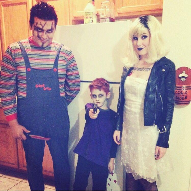 Family Halloween Ideas Chucky Seed Of Chucky Bride Of Chucky Halloween Costumes Chucky Halloween Costume Bride Of Chucky Halloween Chucky Costume For Kids