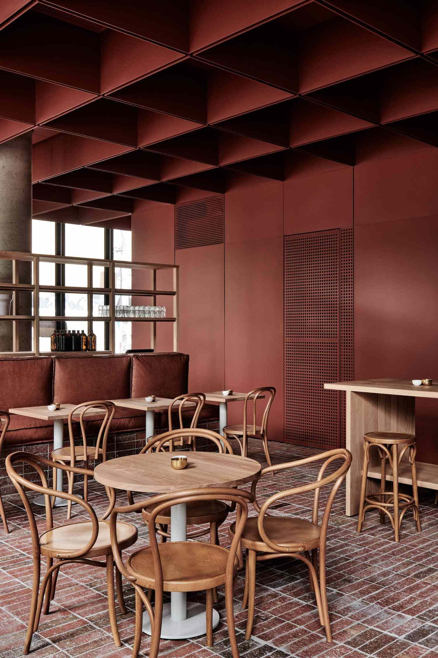 Bentwood Cafe in Fitzroy, Melbourne by RITZ&GHOUGASSIAN ...
