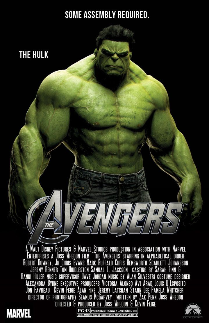 Avengers. i couldnt find any good pictures of the hulk so ...