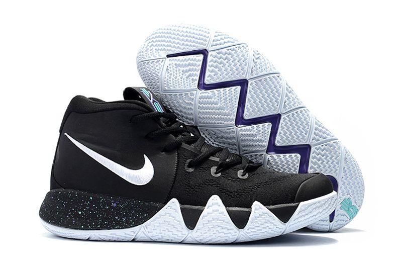 da66d47ca08b Where To Buy Mens Nike Kyrie 4 Core Black White Basketball Shoes ...