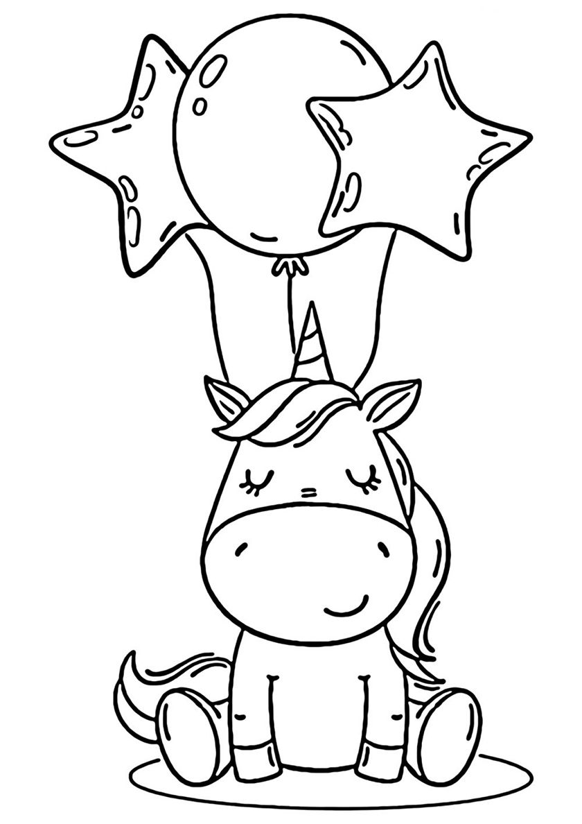 Birthday Surprize High Quality Free Coloring From The Category Unicorn More P Unicorn Coloring Pages Disney Coloring Pages Printables Disney Coloring Pages