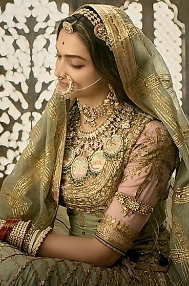 Deepika Padukone, Padmaavat, 2018. in 2019 | Indian bridal ...