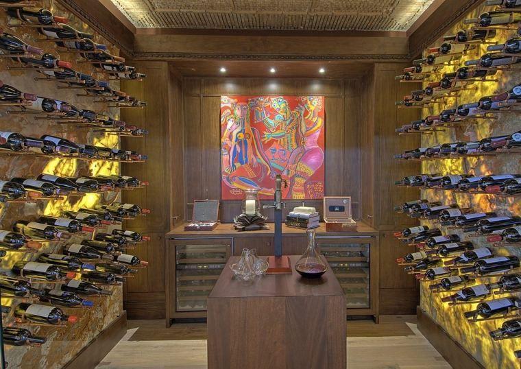 Aménagement cave à vin conseils et exemples de décoration