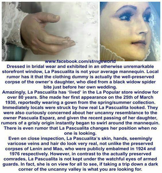 La Pascualita The Real Corpse Bride In Chihuahua Mexico