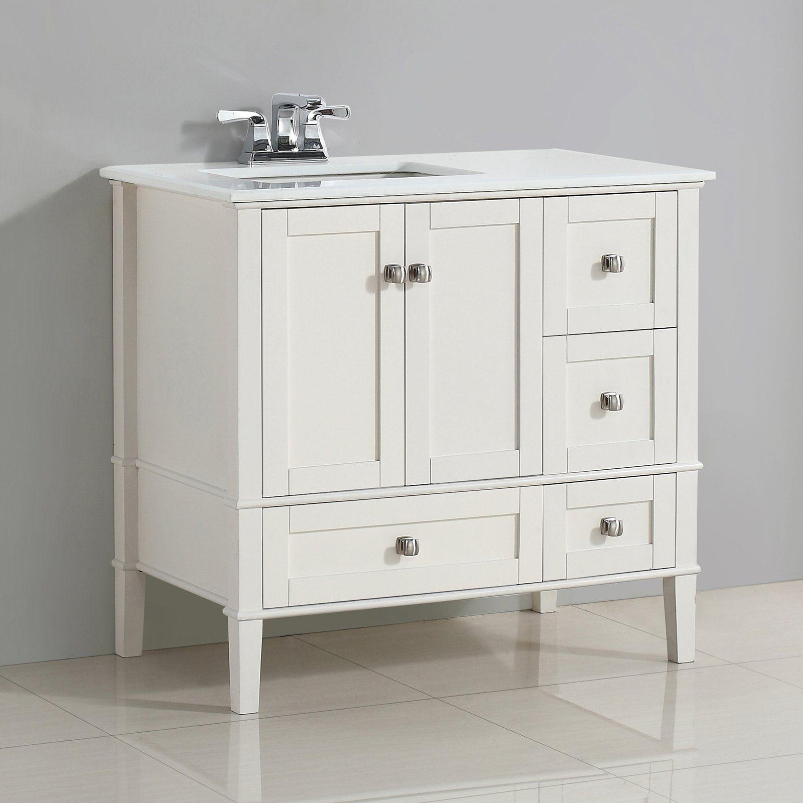 Simpli Home Nl Hhv029 36 2a Chelsea 36 In Single Bathroom Vanity