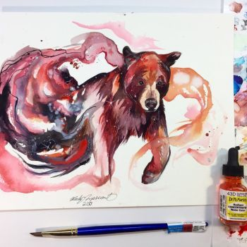 Galaxy Bear By Lucky978 Fantasy Drawings And Paintings