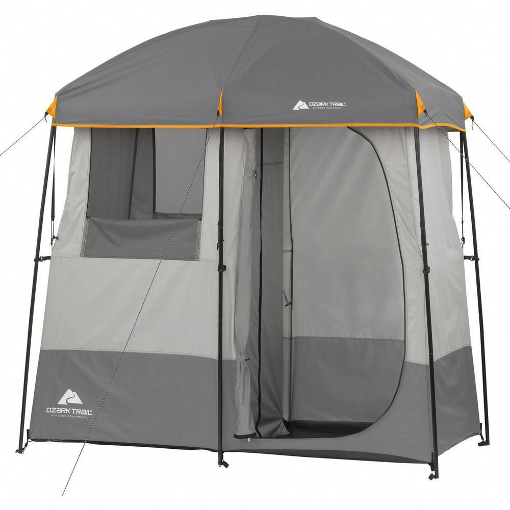 Portable Bath Outdoor 2 Room Non Instant Shower Tent Camping Cabin Hiking Toilet Quick Tentsetupcampingfamili Camping Shower Tent Camping Family Tent Camping