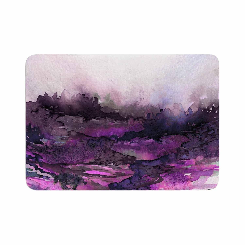 Ebi Emporium The Long Road 5 Memory Foam Bath Mat Purple Kess