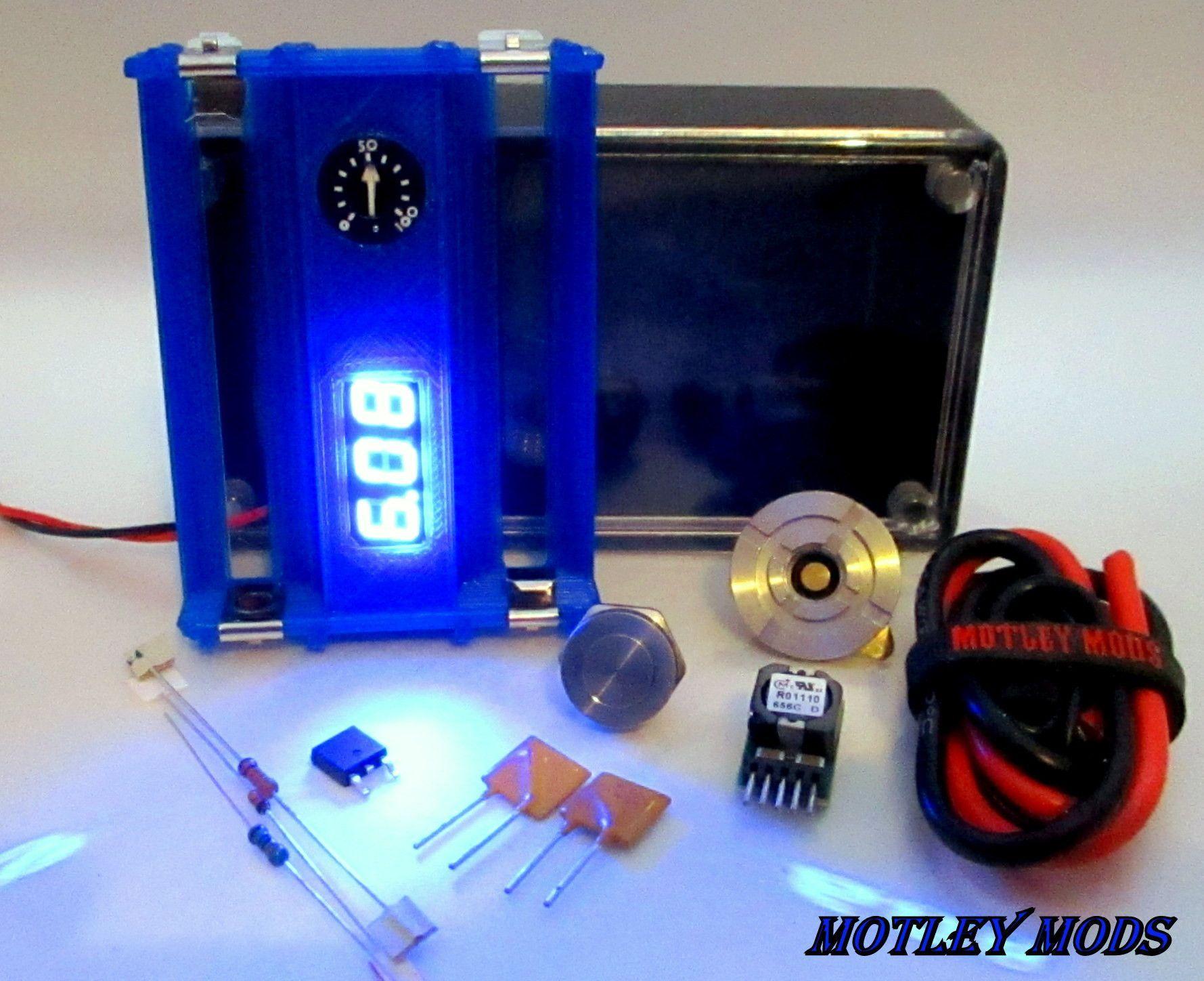 1591B OKRT10 Full Kit Diy box mod, Box mods, Mod