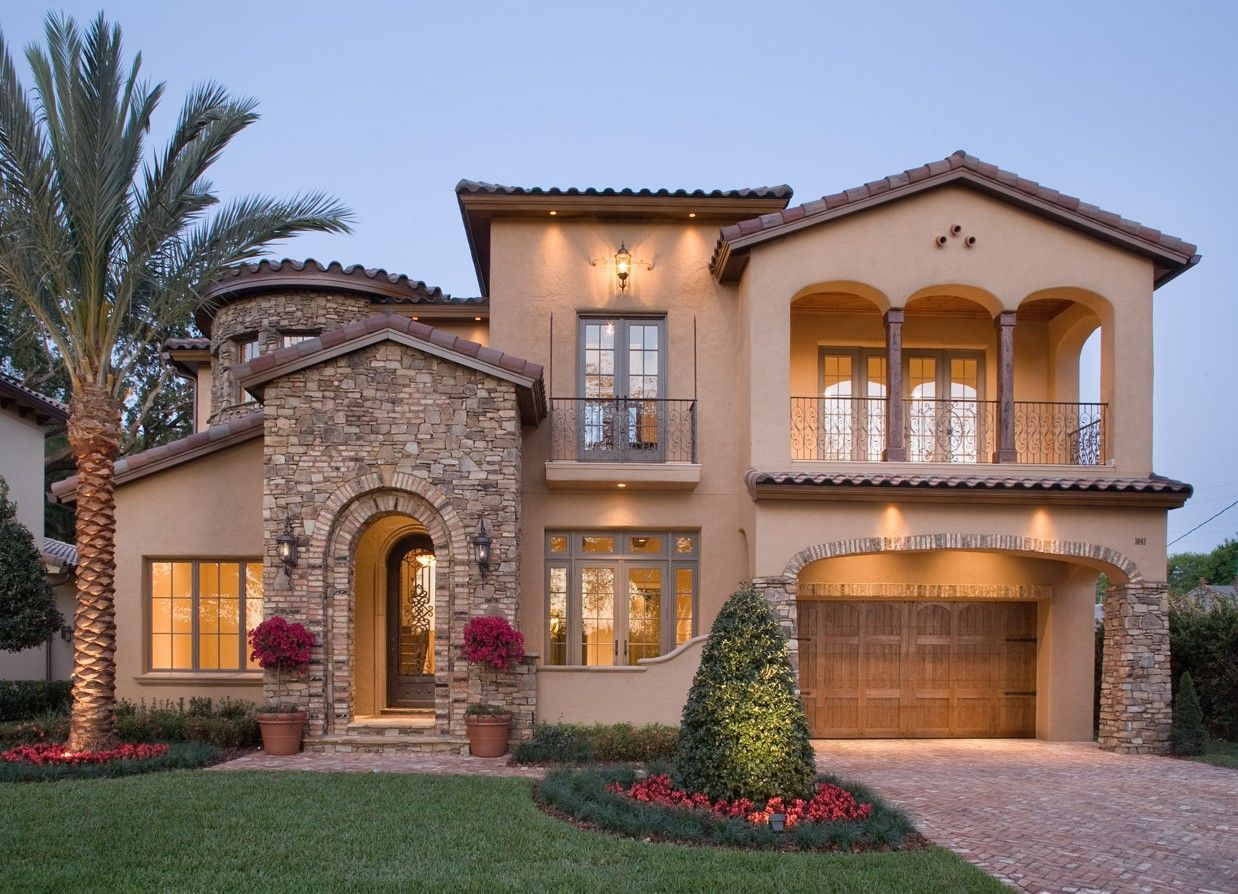 Mediterranean Style House Plan 4 Beds 3 5 Baths 4923 Sq Ft Plan 135 166