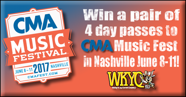 CMA Music Fest Ticket Giveaway | Local Quick Trips | Music