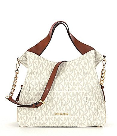 06bd45ada24c MICHAEL Michael Kors Devon Signature Shoulder Tote  Dillards ...