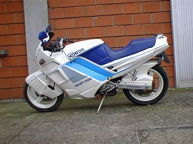 I would love one of these one day - Moto Morini Dart, Morini 3½ motor, modified Cagiva Freccia frame