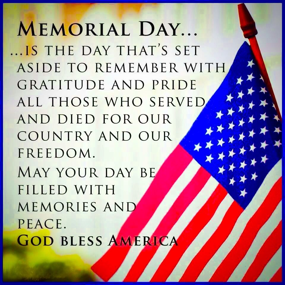 Memorial Day Thank You Quotes: Pin By Freda Lindsey-Malin On Holidays...