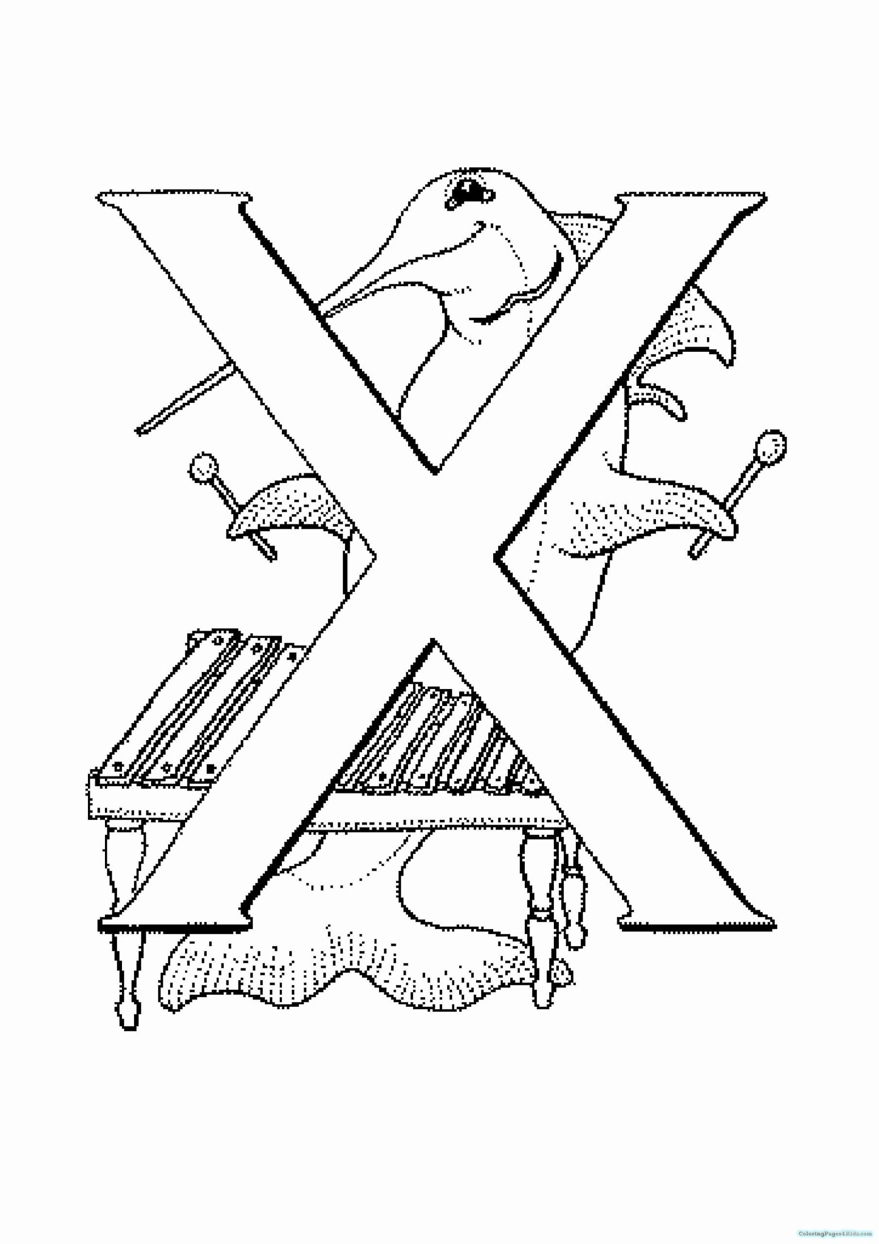 Letter X Coloring Pages Best Of Letter X Coloring Pages Preschool In 2020 Coloring Pages Inspirational Coloring Pages Alphabet Coloring Pages
