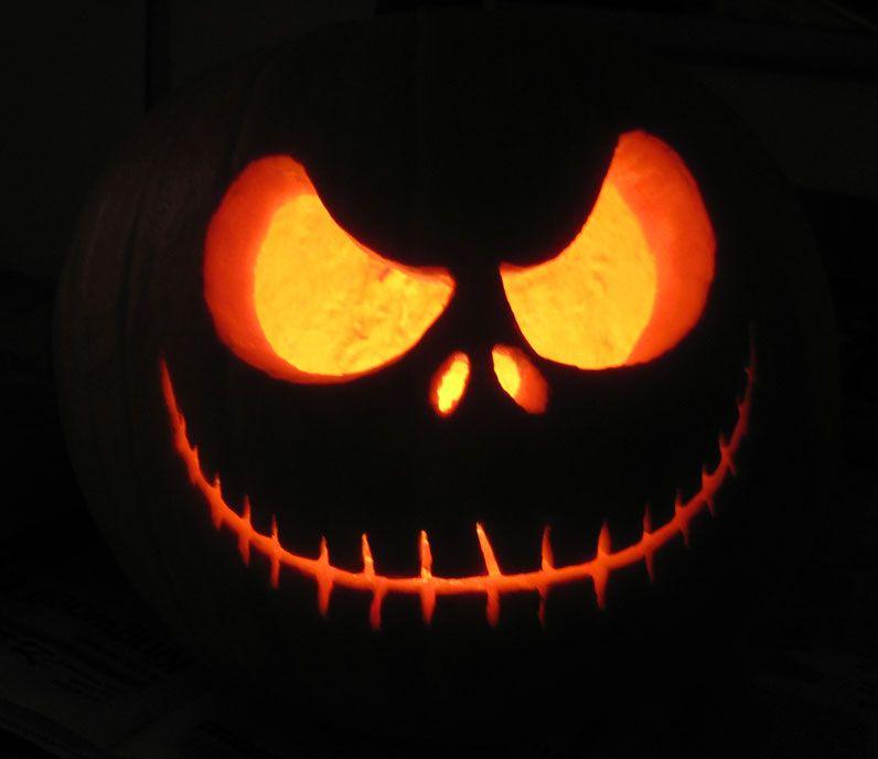 Jack skellington jack o 39 lantern holidays events that for Skeleton pumpkin design