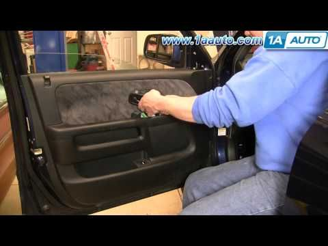 How To Install Replace Rear Door Panel Honda Cr V 02 06 1aauto Com Youtube Honda Cr Repair Videos Panel Doors