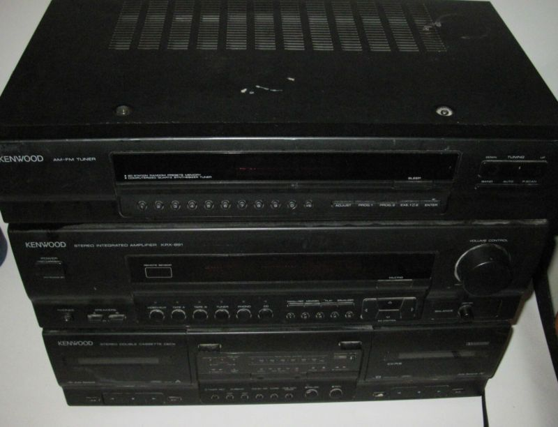 Rare Vintage Kenwood Compact All In One Home Stereo System