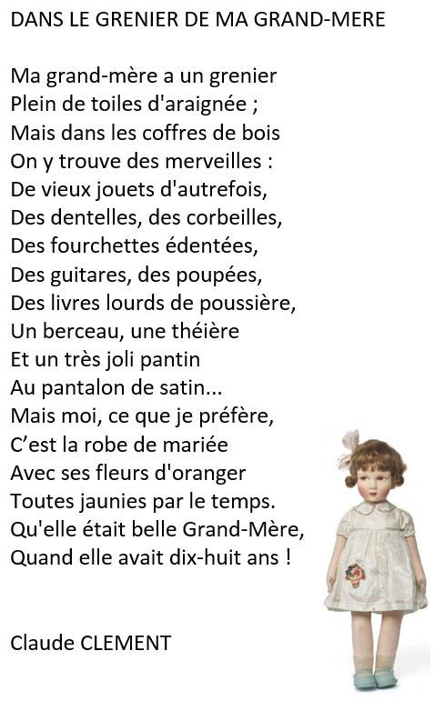 Poeme Danniversaire Pour Ma Grand Mere Awesome Poèmes Pour