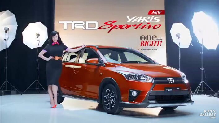 Toyota Of Katy >> Katy Tv Ad Toyota Yaris Trd Sport Line Katy Perry
