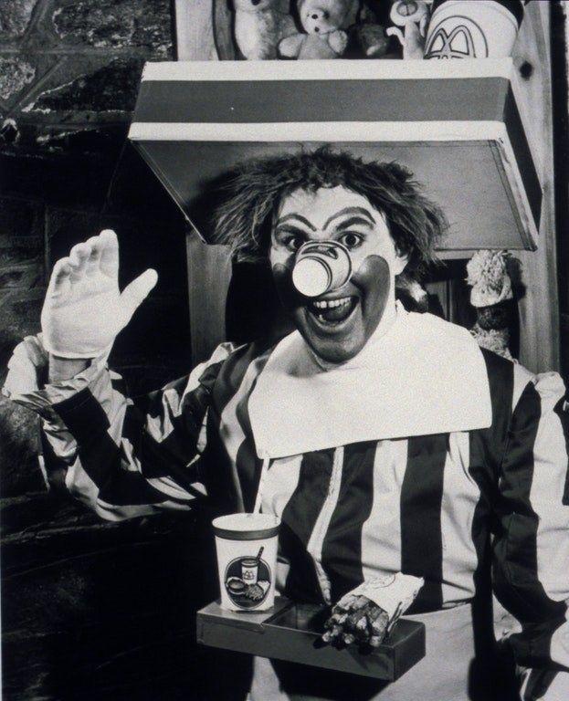 Der originale Ronald Mcdonald war ein Albtraum.