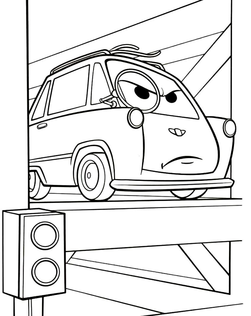 cars 2 printable coloring pages print disney cars 2
