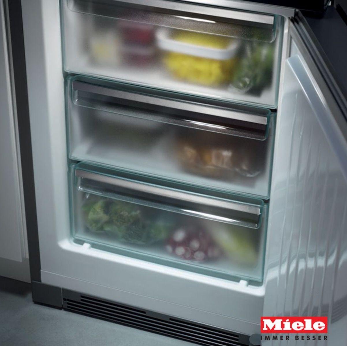 Il sistema NoFrost della linea K 20.000 Miele offre massimo comfort ...