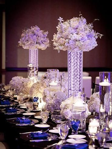 14 Gemcut Premium Glass Crystal Pillar Vase Candle Holder