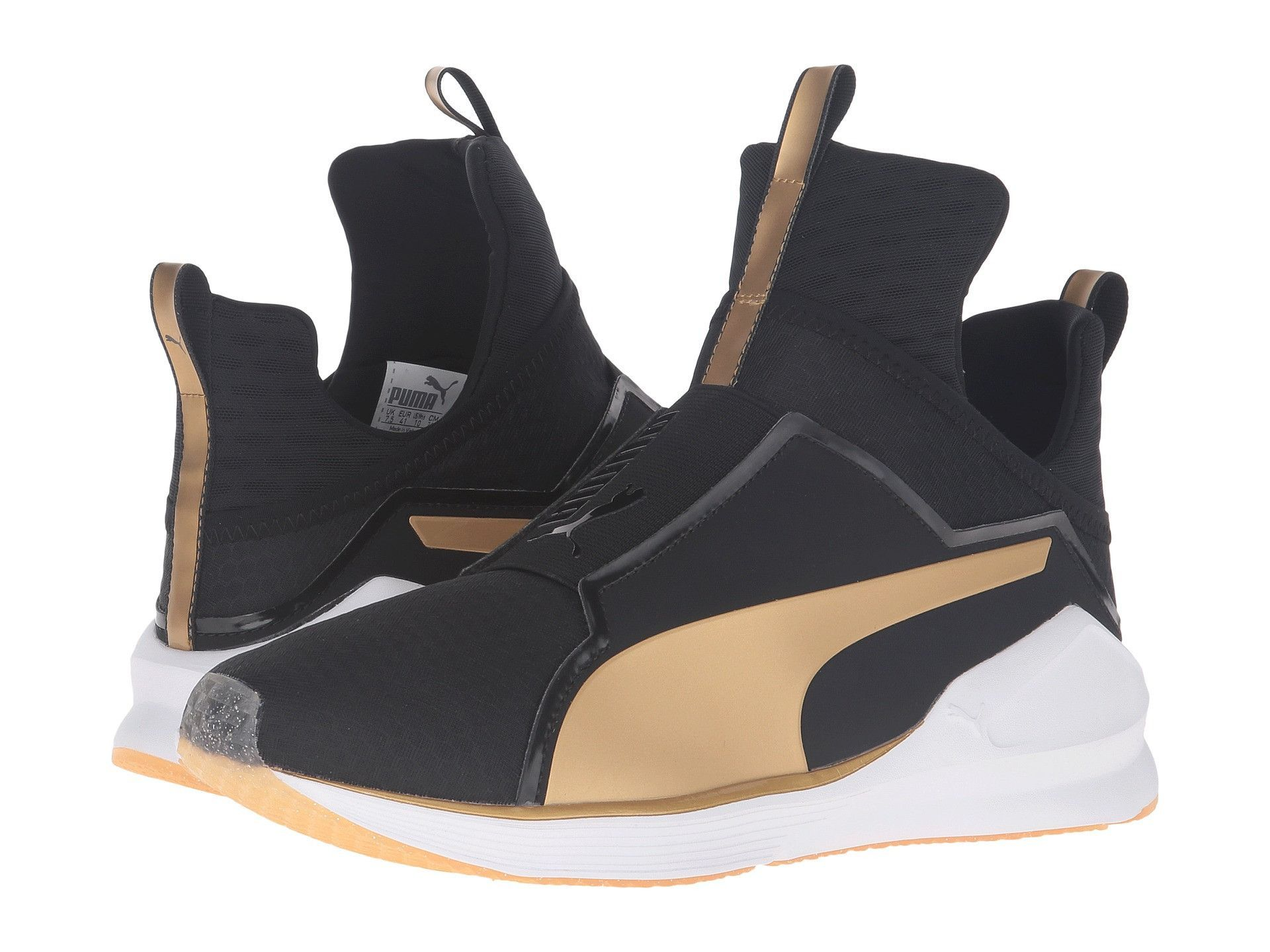 puma fierce core gold