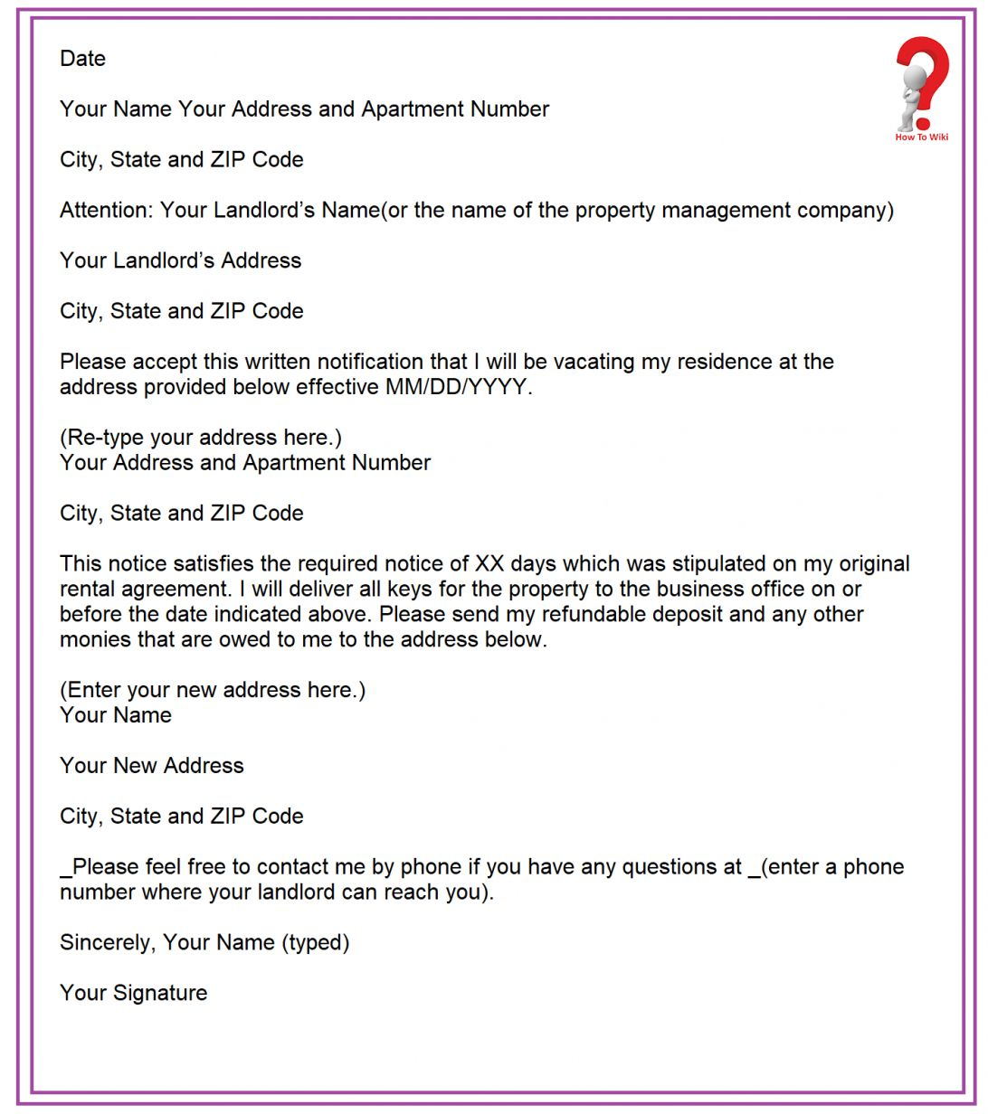 Two Weeks Notice Letter Write Template In Pdf Word Wiki 2