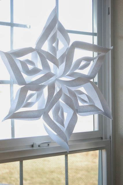 How to Make a Dimensional Paper Snowflake