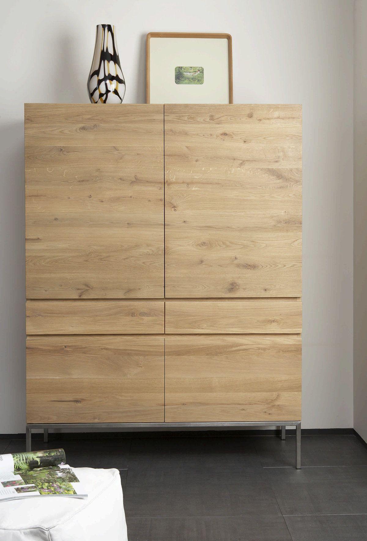 Ethnicraft Oak Ligna Cupboard Hochschrank Diy Schrankturen