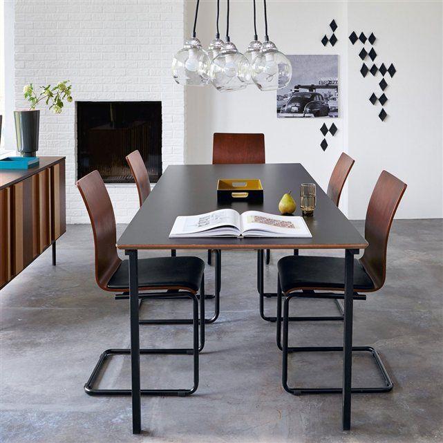 Table De Repas Stratifiee 2 Modeles Watford La Redoute Interieurs Deco Maison Mobilier De Salon Decoration Maison