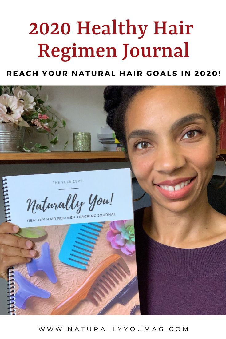 Inside the Naturally You! Healthy Hair Regimen Tracking Journal - Naturally You! Magazine