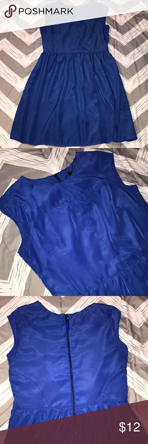 Blue Mossimo Sleeveless Summer Dress   My Posh Closet