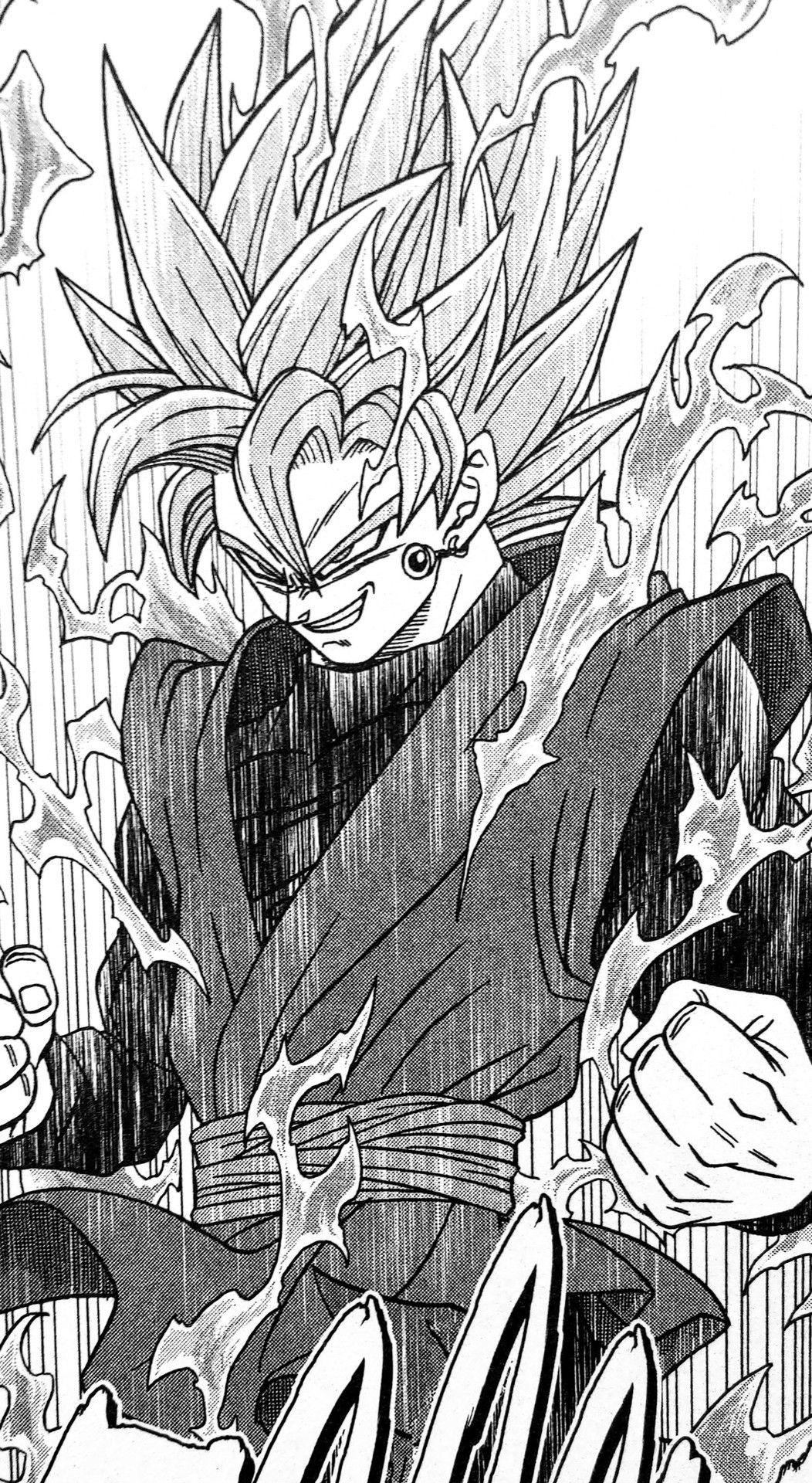 Still Catching Up On The Anime But Manga Goku Black Tells A Good Story Too Dragon Ball Artwork Anime Dragon Ball Super Dragon Ball Painting