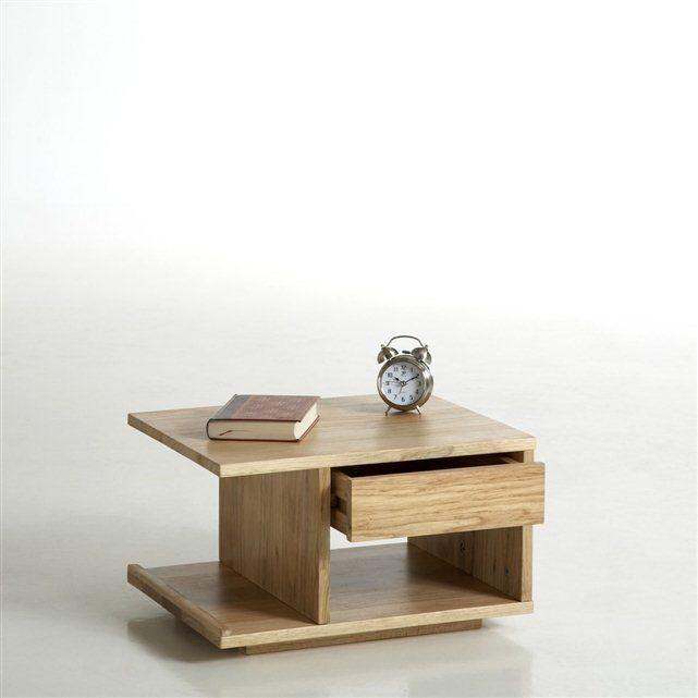 Mesita de noche de pino, reversible, Presto | Muebles madera y metal ...