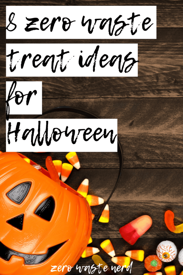 Zero Waste Treat Ideas for Halloween Bobbing for apples