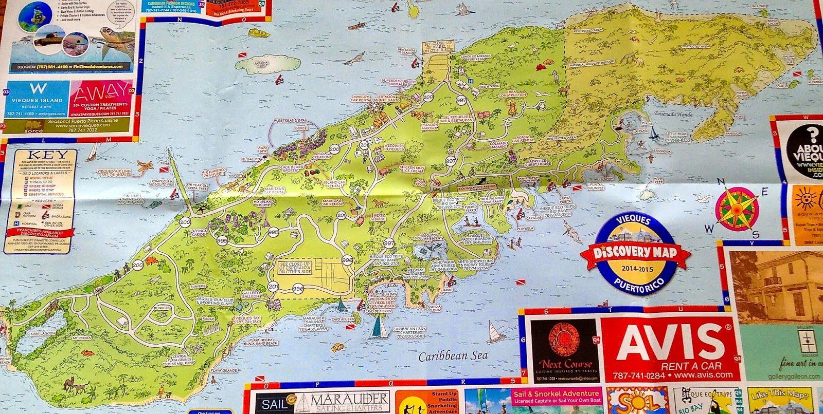 Viva Vieques Vieques Caribbean Sea Postcard