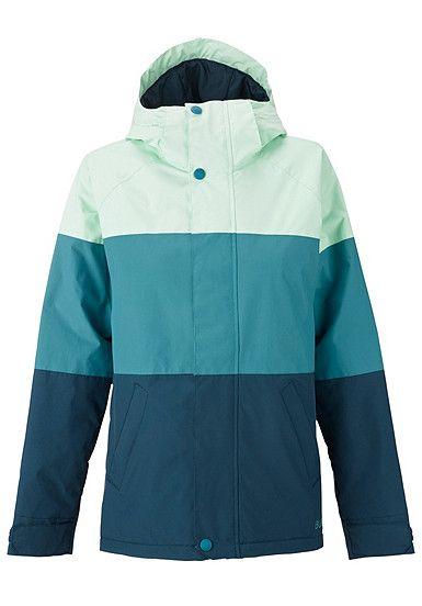 Snowboardjacke Burton Radiant Für Blau Damen OPZkXui