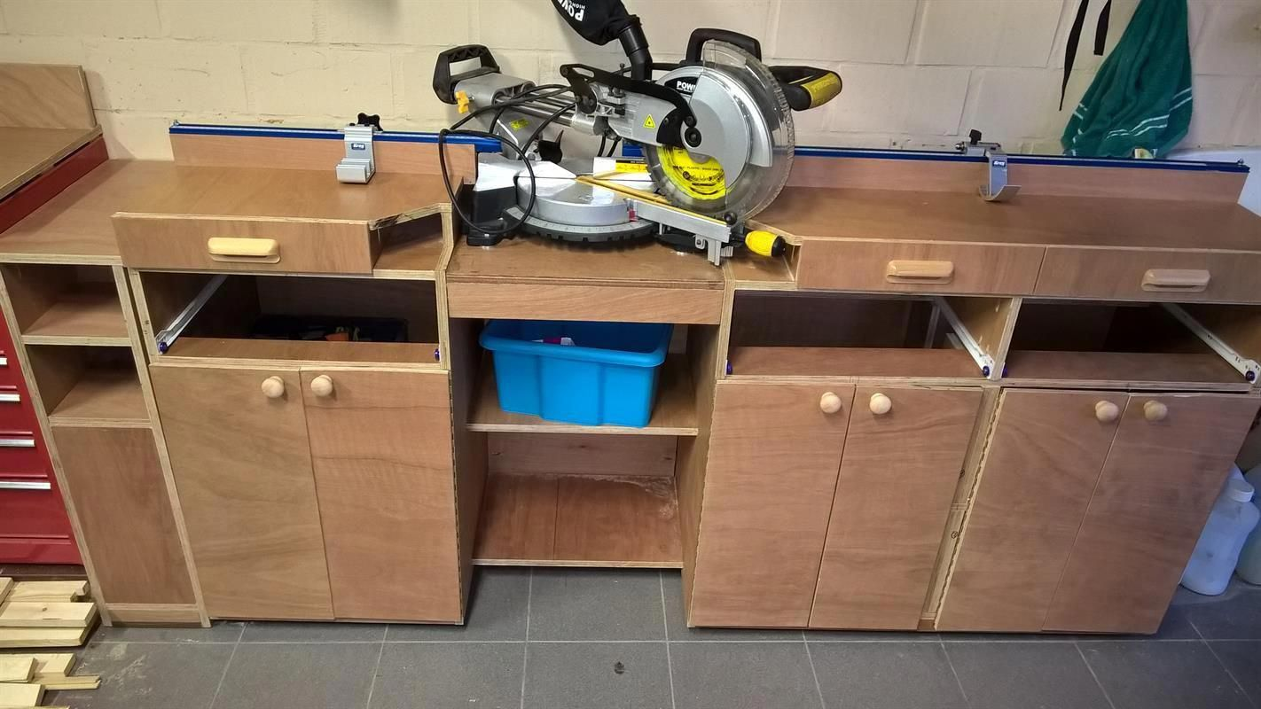 Miter Saw Station And Storage Buildsomething Com Mitersaw Mitre Saw Station Miter Saws Woodworking Tools