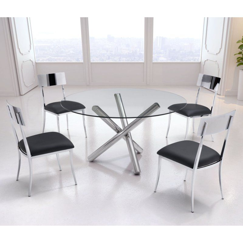 Zuo Modern 5 Piece Mach Dining Table Set - ZMC2949-1 Products