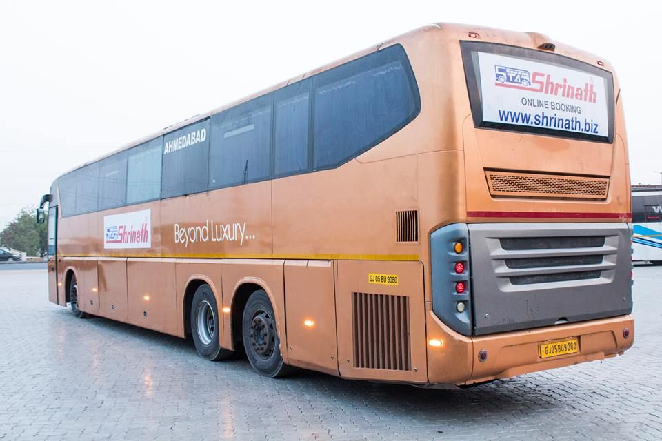 Introducing Scania 2x1 Semi Sleeper Buses Operational On Ahmedabad